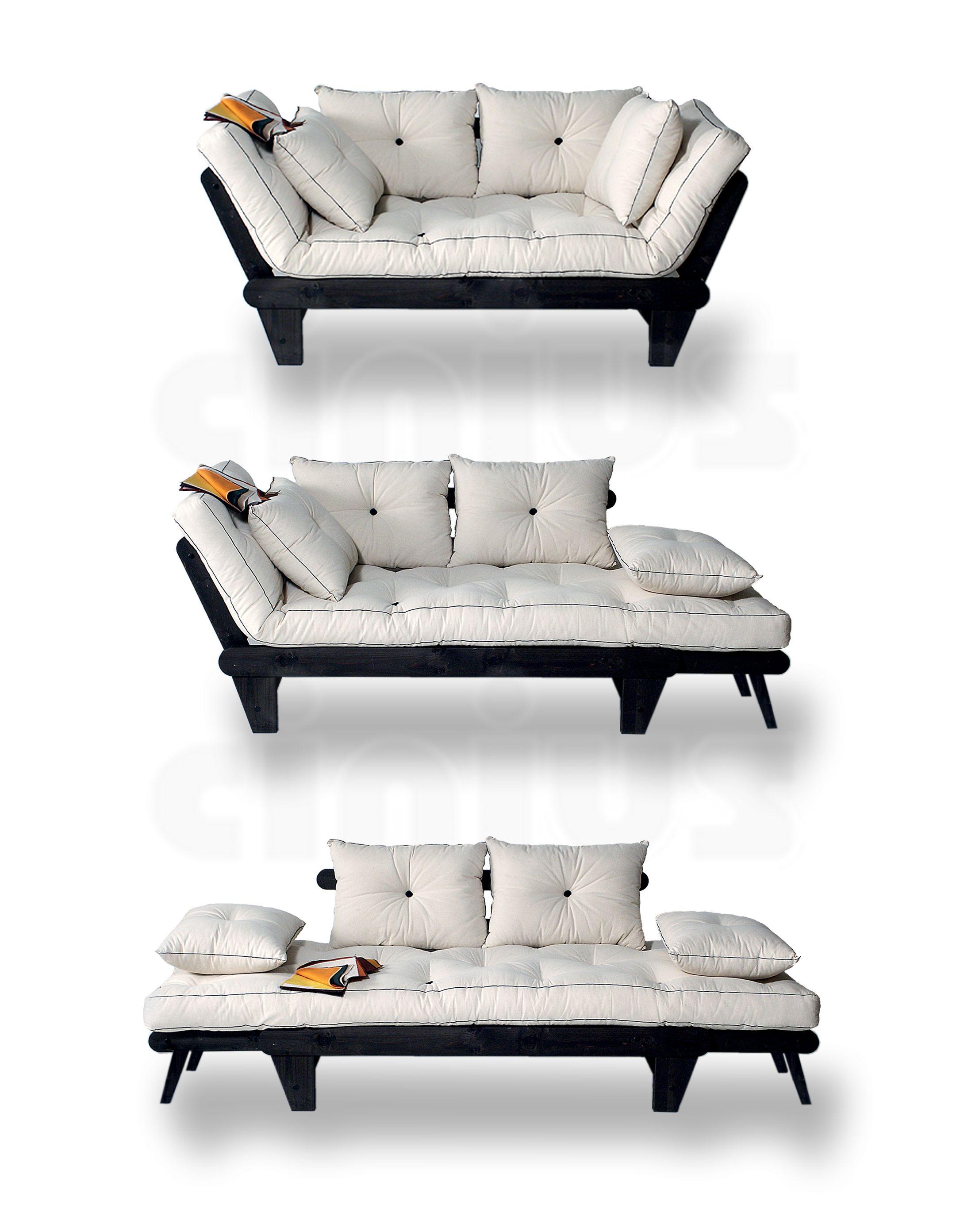 Divano letto sole disponibile in ben 3 versioni for Piccoli divani letto