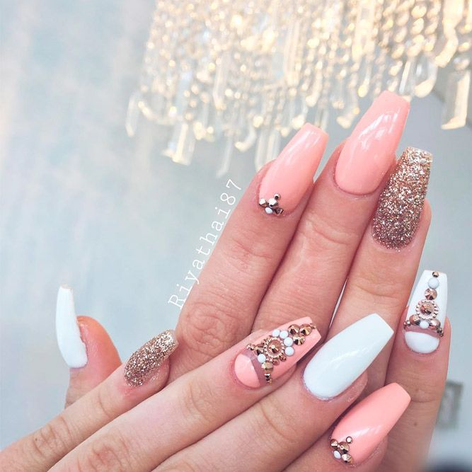 25 Fantastic Designs For Coffin Nails You Must Try Nails