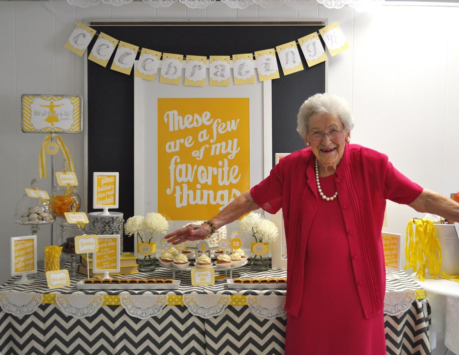 This Company Has Great Example Photos On Their Facebook Page A Must See Most Adorable Birthday Party For 98 Yr Old