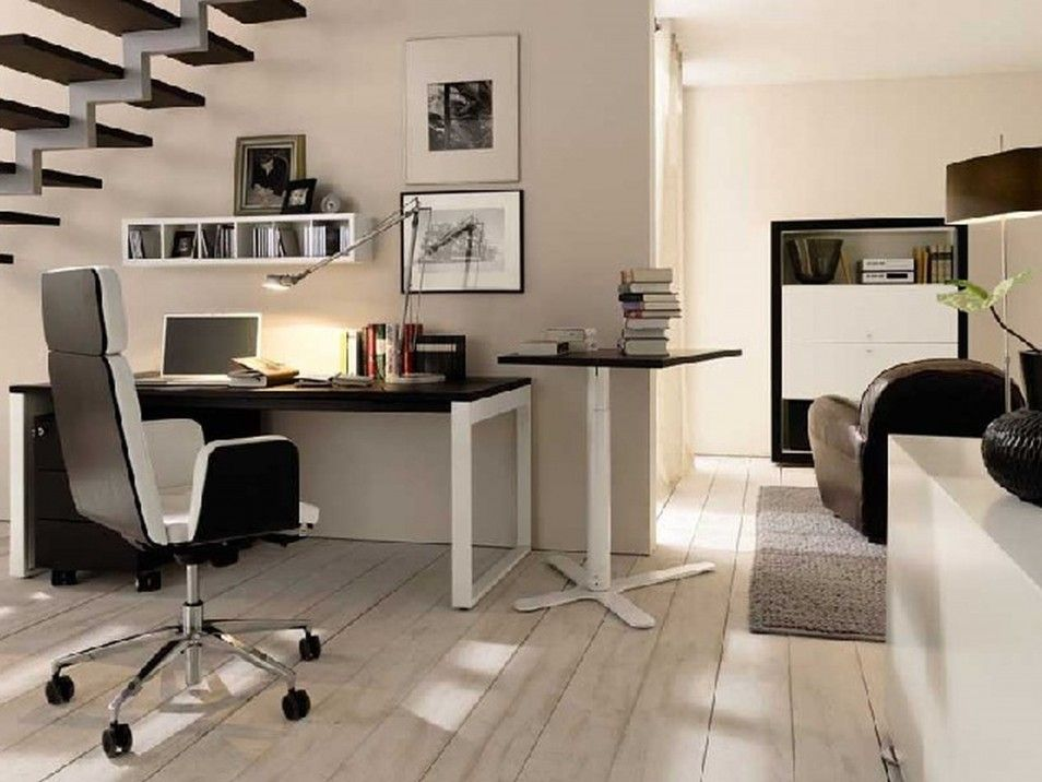 Home Office In Living Room How To Get A Modern Interior Design Decor Ideas Window Treatment I