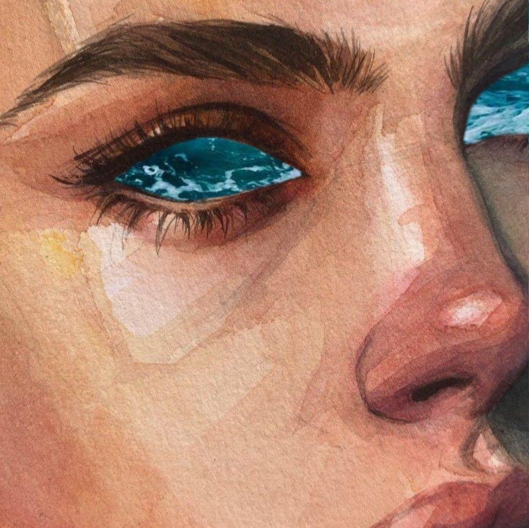 Ocean Eyes Sanat Cizim