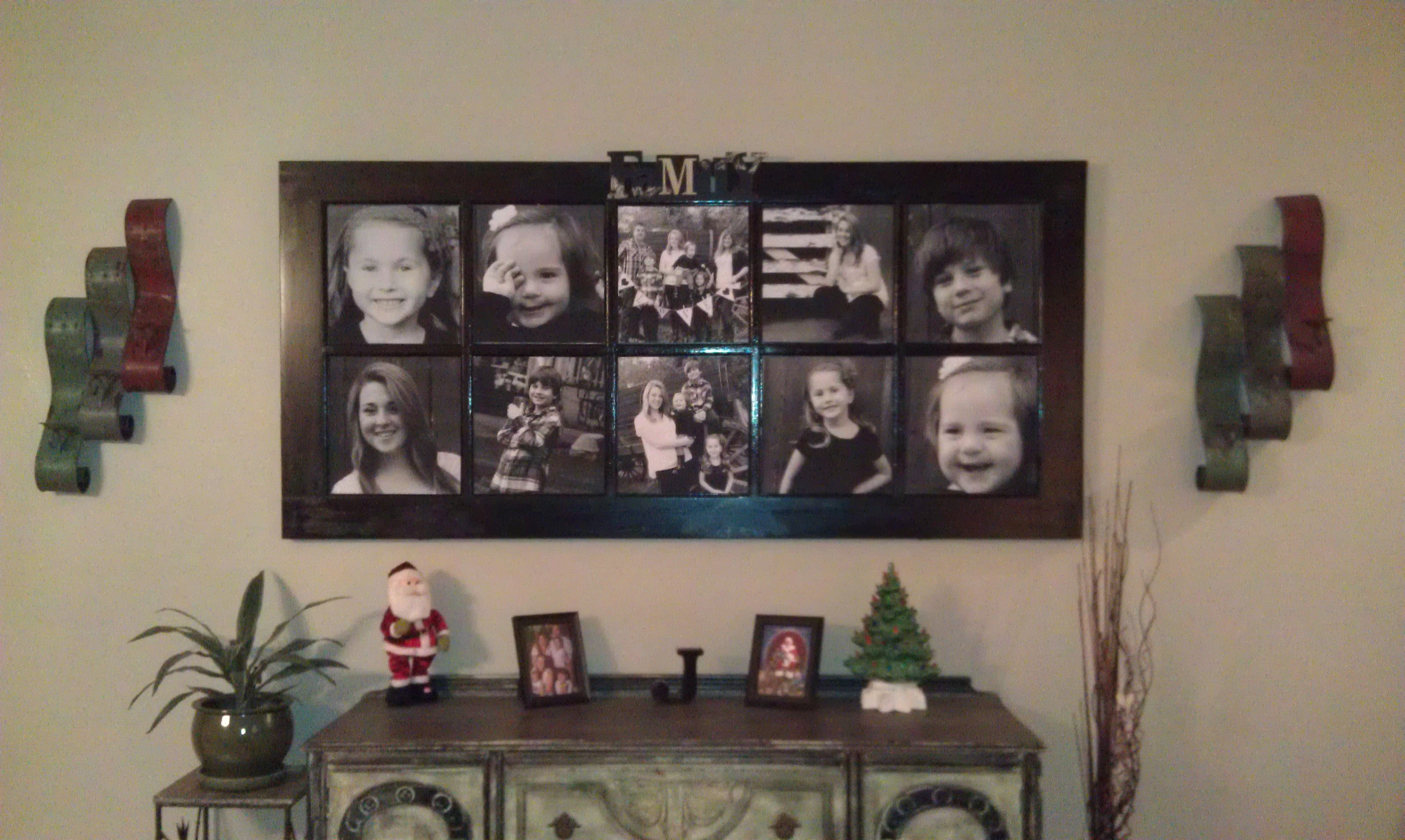 Pin By Jenni Rigdon On For The Home Door Picture Frame Diy Photo Displays Old French Doors