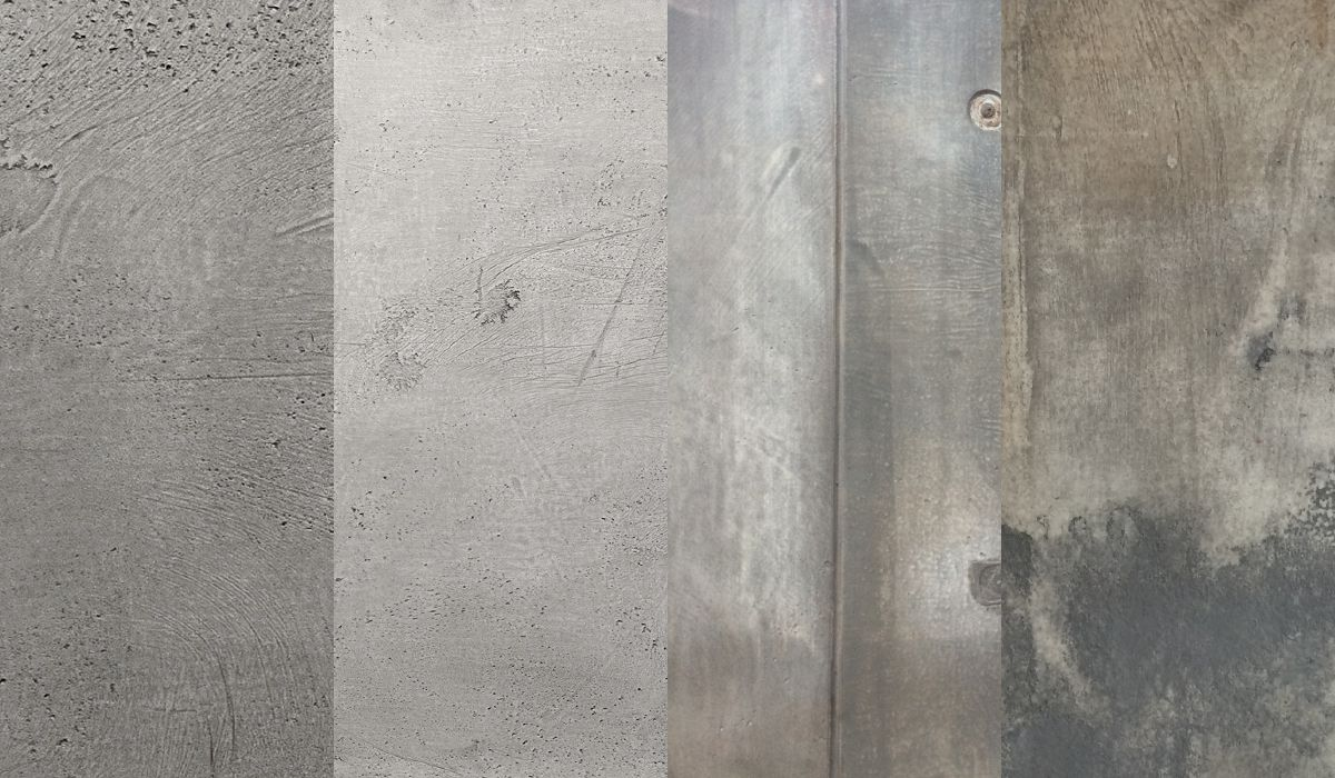 Fire place application - European Cortile Concrete Tiles