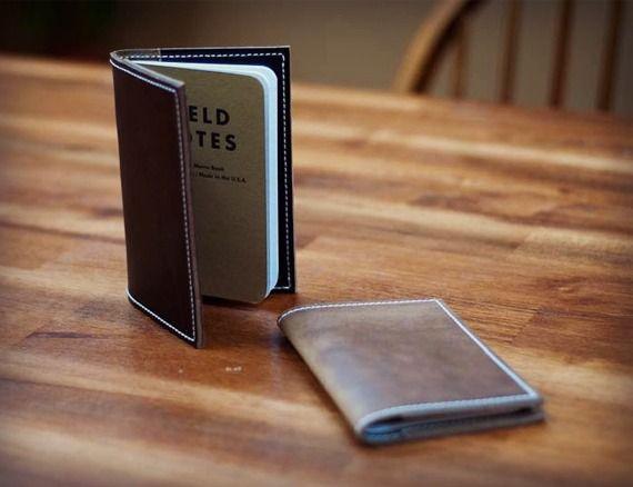 Hellbrand Leatherworks Chromexcel Field Notes Cover  Note