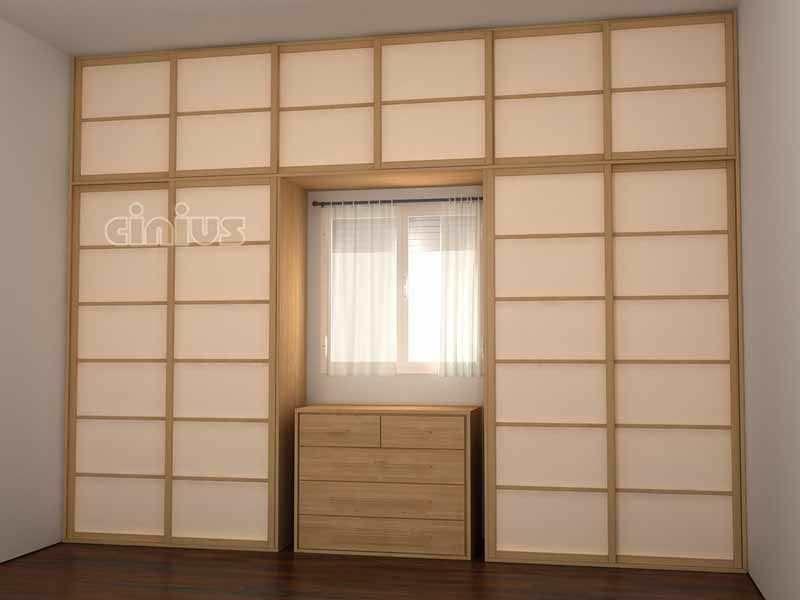 Porte du0027interieur   pour placard   pour dressing   coulissante - decoration pour porte d interieur