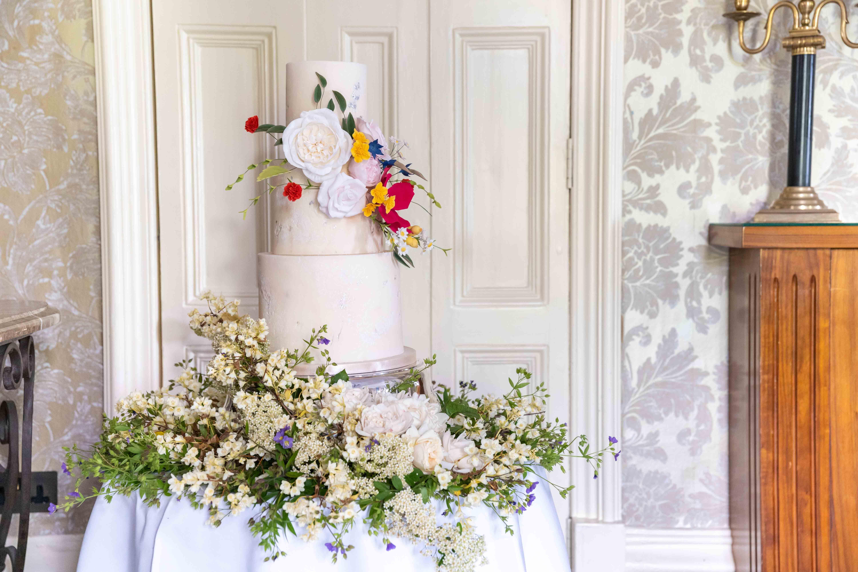 Wedding Cake at The Petersham, Richmond | Intimate wedding ...