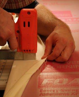 olive and ollie: { DIY tutorial: how to make a quilt design wall ... : how to make a quilt wall - Adamdwight.com