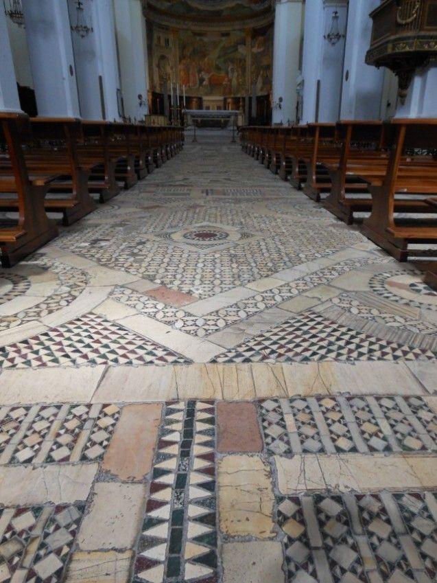 Spoleto Duomo Cosmati Floor Tuscanyagriturismogiratola