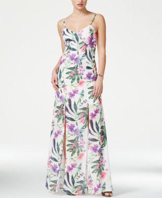 b3b394647a14 GUESS Antoinette Sleeveless Floral-Print Maxi Dress | MAXI ADDICT ...