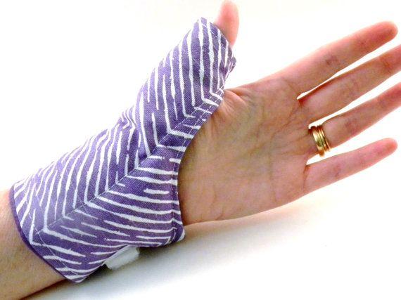 Rice Heating Pad For Thumb Microwavable Wrist Wrap