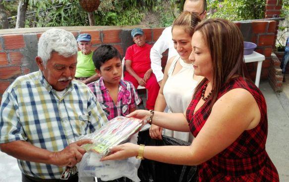 Jornada de Solidaridad con los adultos mayores de Dosquebradas