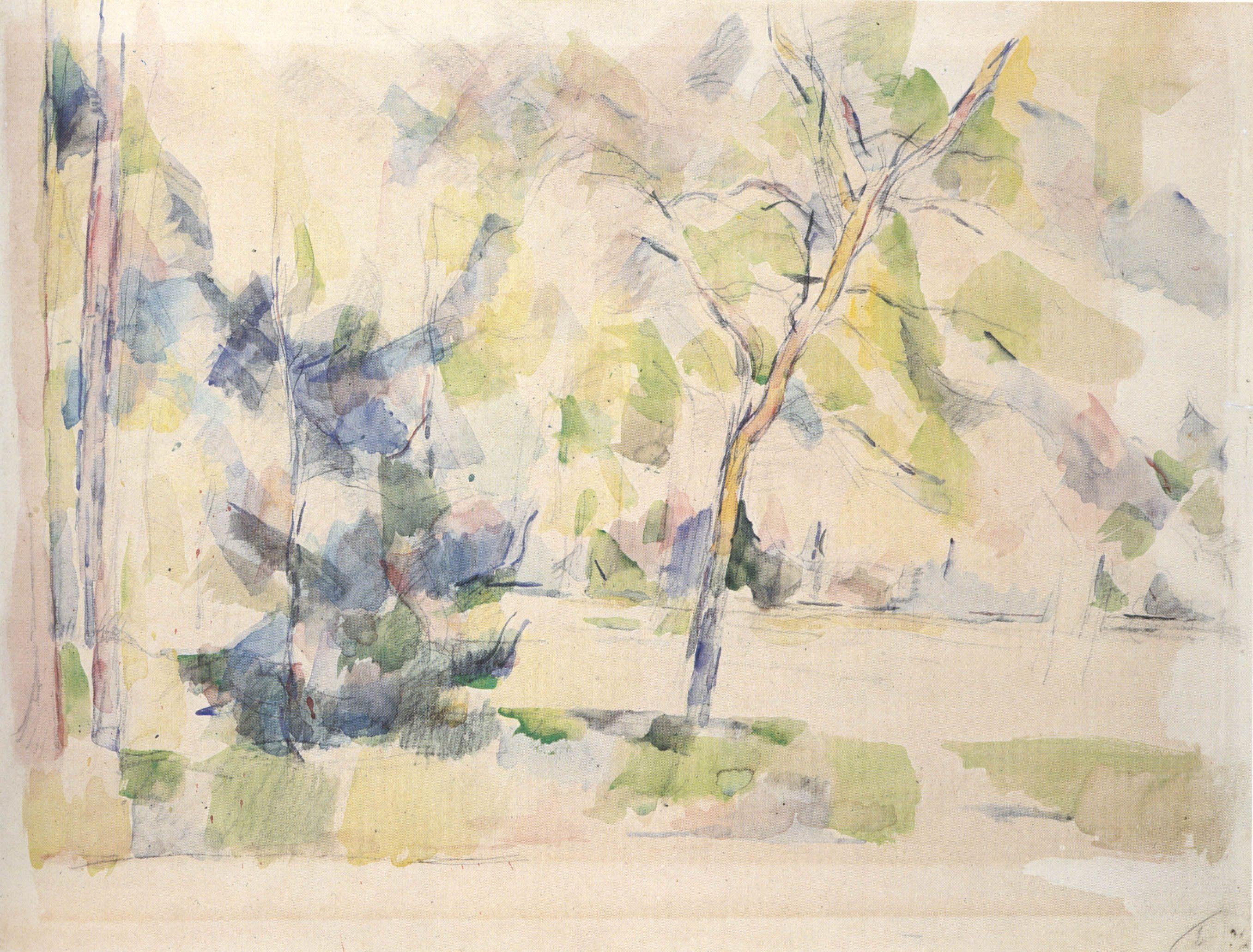 """Résultat de recherche d images pour """"cezanne nature watercolor"""