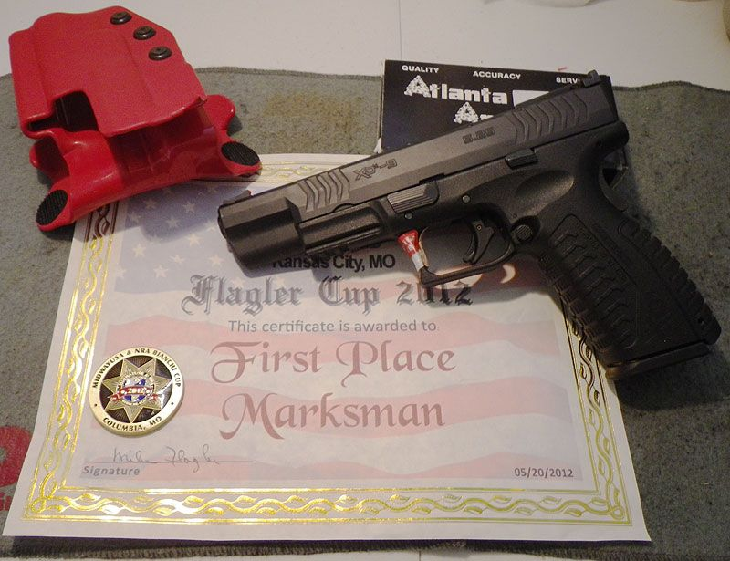 Flagler Cup 2012 First Place Marksman uses Comp-Tac!