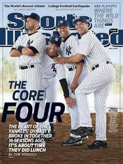 Yankees Core Four Featured On Cover Of Sports Illustrated Derek Jeter New York Yankees Sports Illustrated