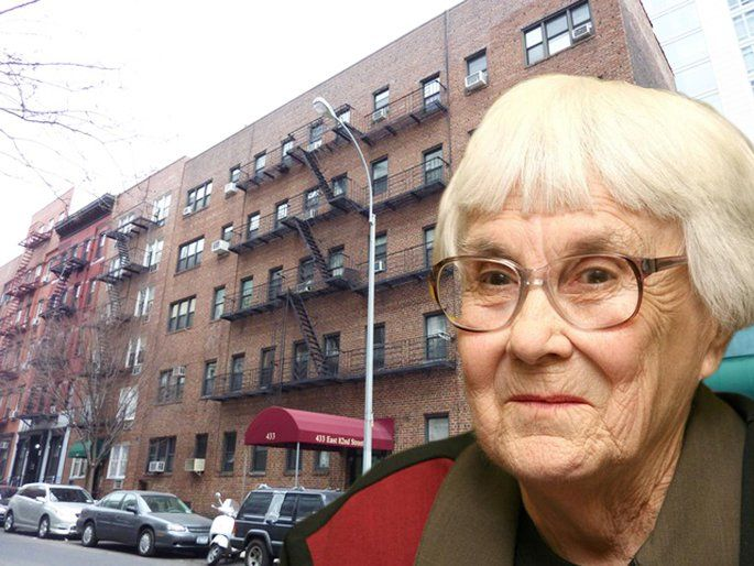Harper Lee Had A Crazy Cheap Hideout On The Upper East Side For 50 Years 6sqft Harper Lee Celebrity Apartments Upper East Side