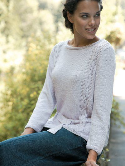 Free Knitting Pattern Vista By Martin Storey In Rowan Bamboo Soft