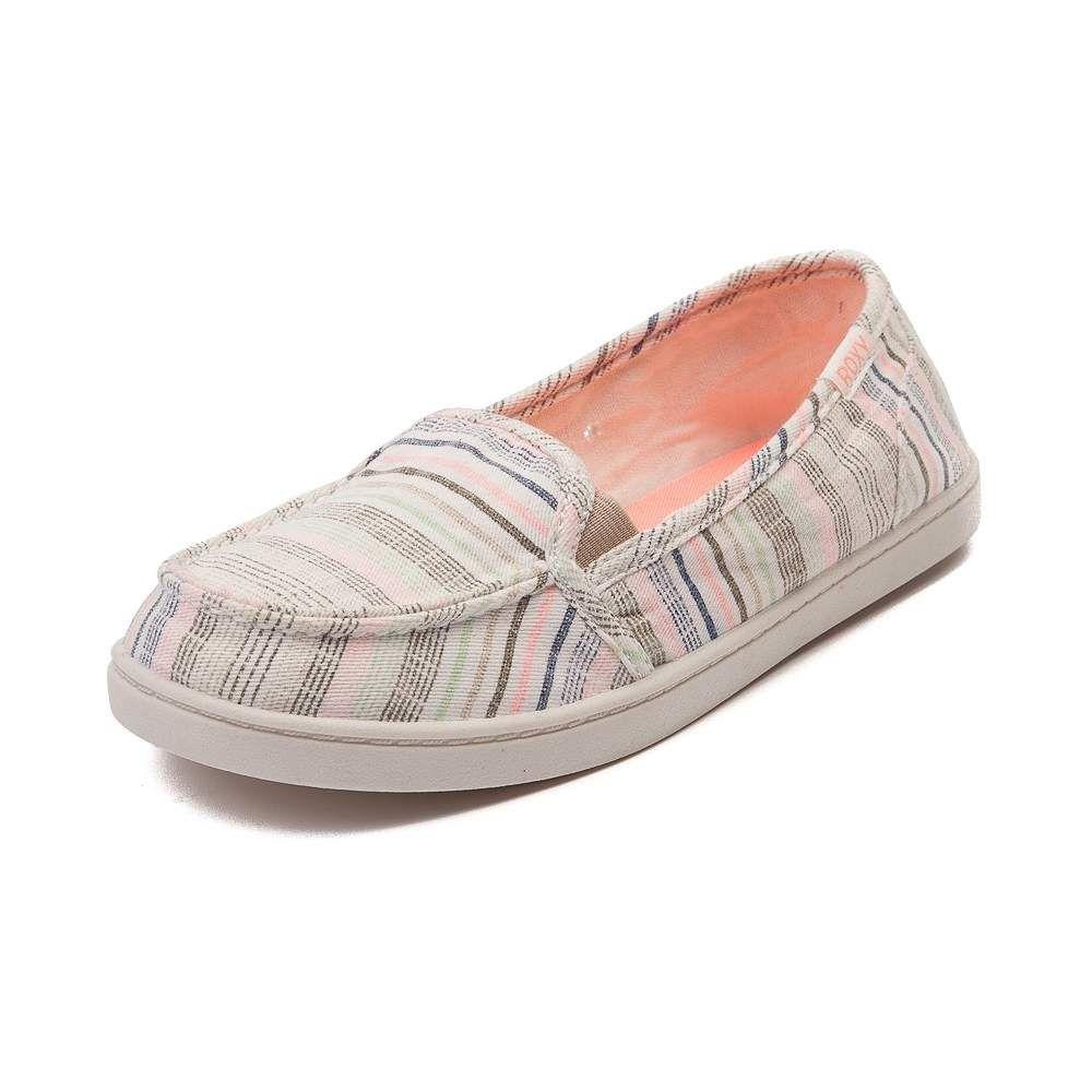... a44c6 6faf0 Womens Roxy Minnow Stripe Slip On Casual Shoe competitive  price ... 8cdde06965
