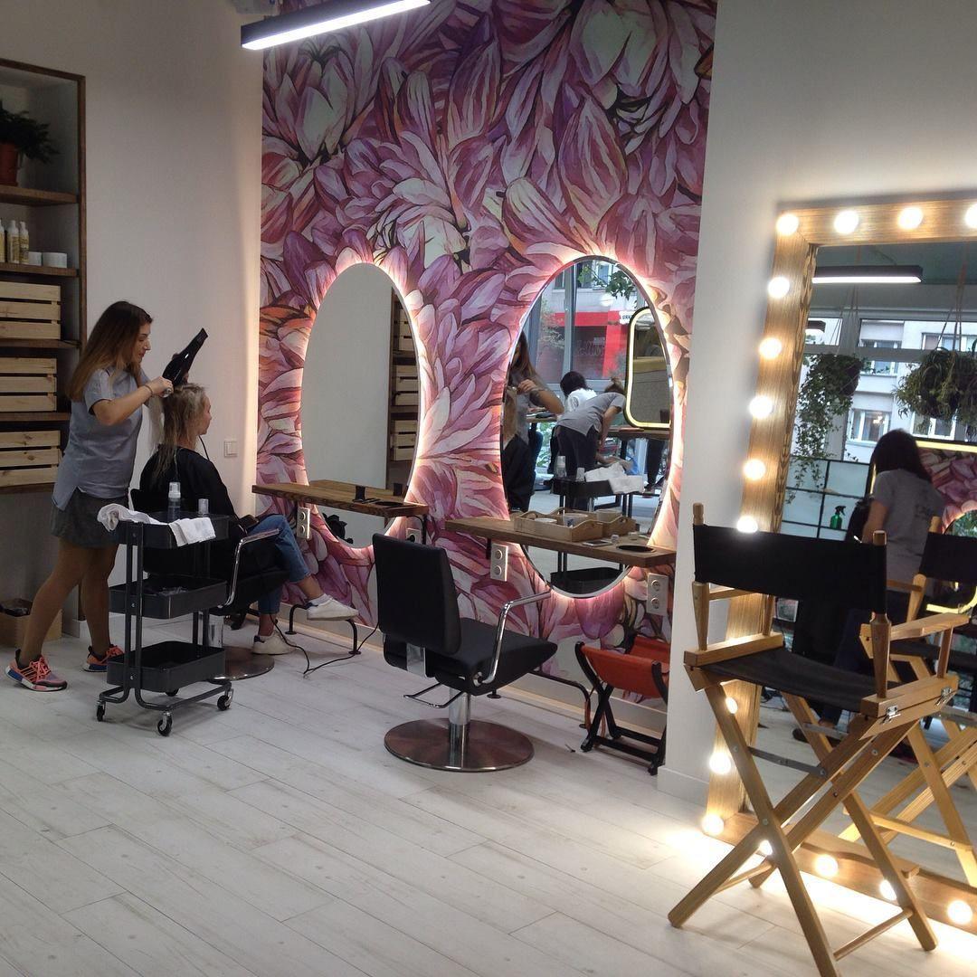 HomeSpa Dekor in 2020 Beauty salon decor, Hair salon
