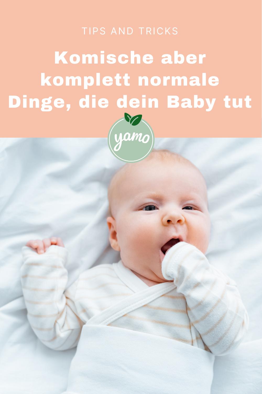 Komische Dinge, die mein Baby macht | yamo frische Bio-Babynahrung