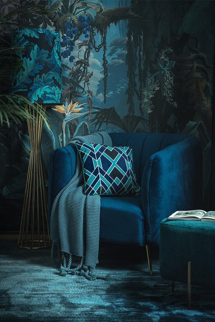 Blue Shades Throw Pillow Throws Decorative Sofa Throws Sofa Throw Pillows Sofa Throw
