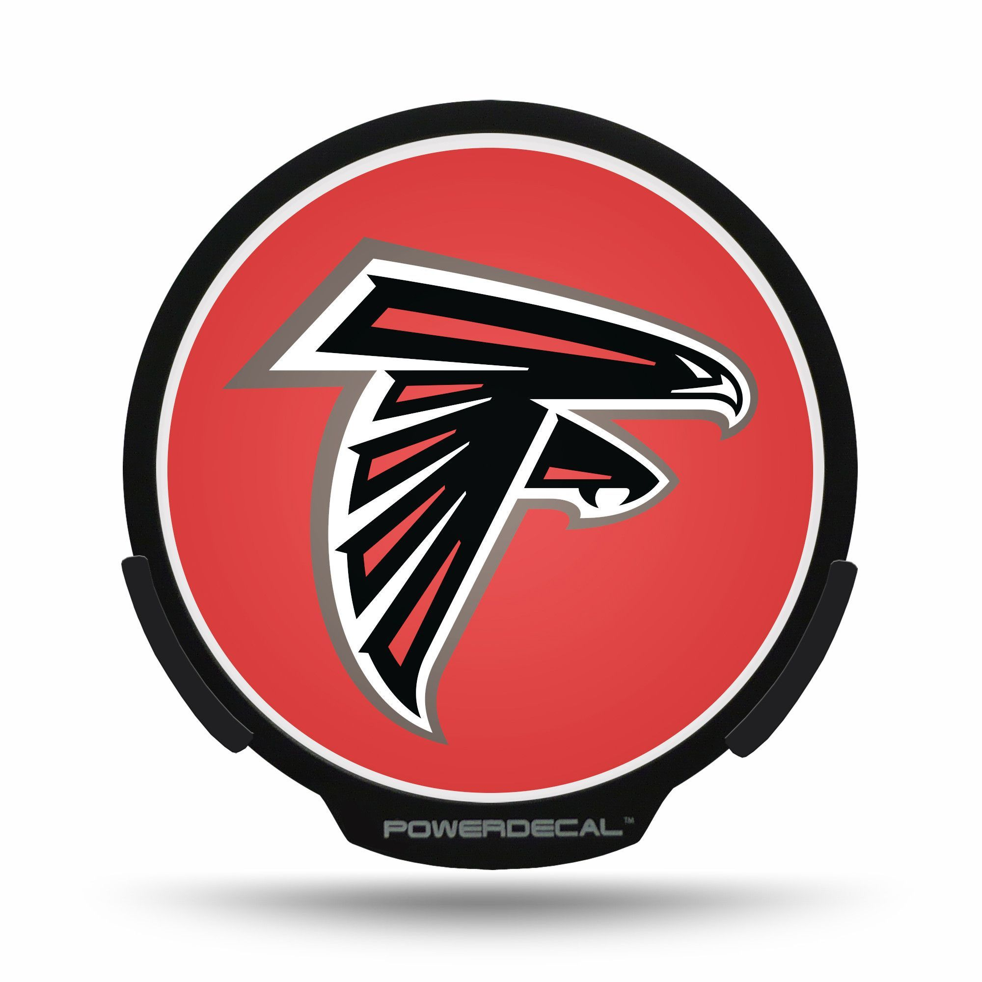 Atlanta Falcons Power Decal Atlanta Falcons Falcons Window Clips