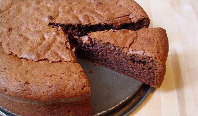 La célèbre recette du gâteau au chocolat sans sucre, sans ...