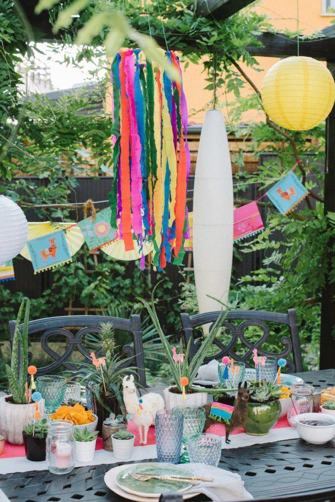 Photo of Knallfarben und ein Lama – Fiesta Gartenparty – Fräulein K. Sagt Ja Hochzeitsblog