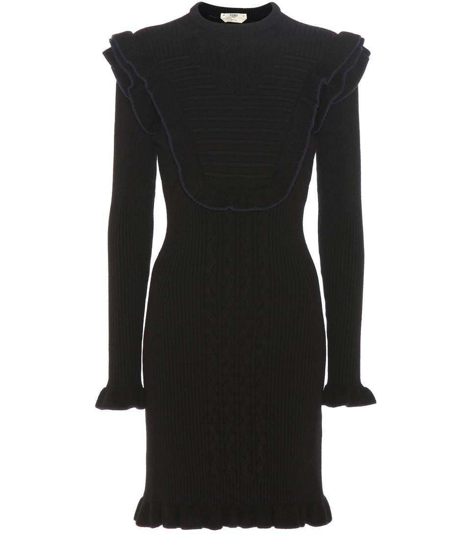 mytheresa.com - Wool-blend sweater dress - Luxury Fashion for Women / Designer clothing, shoes, bags