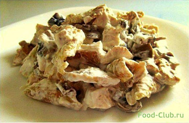 мясной салат рецепт диета