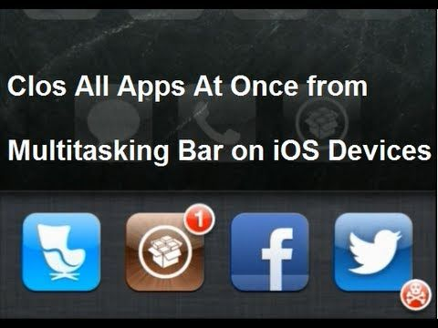 How to Close All Apps at Once on iPhone and iPad from