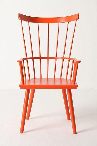 #orange  Dalloway Armchair #anthropologie