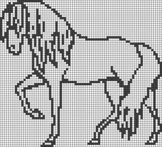 Pixel Art De Cheval