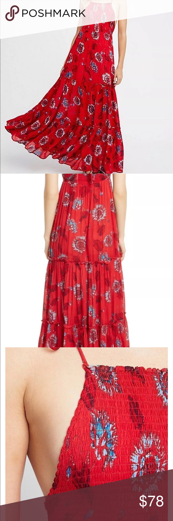 442c11ecdf7 Free people Garden Party Maxi Dress Celebrate among the azaleas and roses  with the Free People