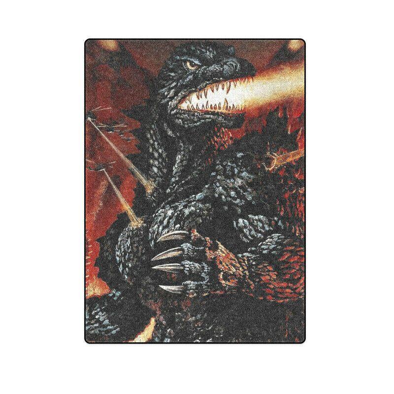 Cool Godzilla Sofa Bed Soft Throw Fleece Blanket