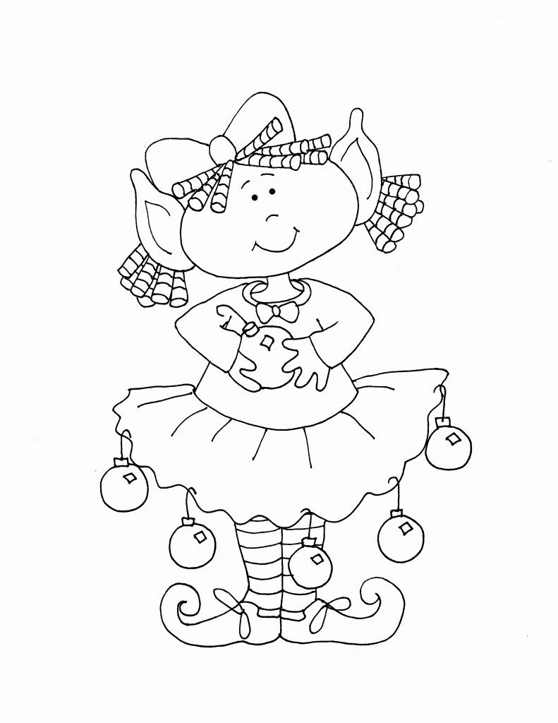 Little Girl Elf | Found Free Digis | Pinterest