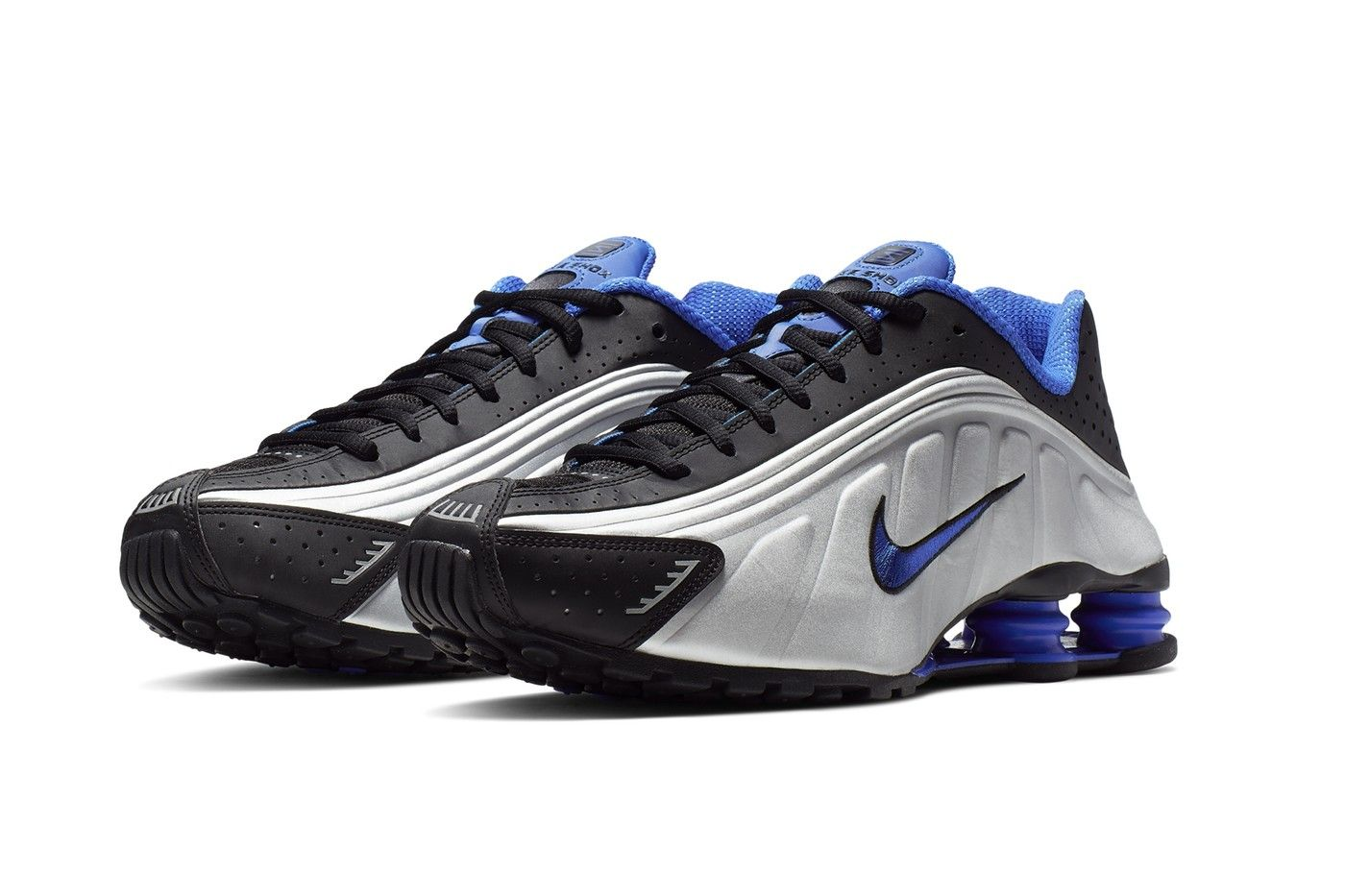 Nike Releases the Shox R4 in Racer Blue & Metallic Silver ...