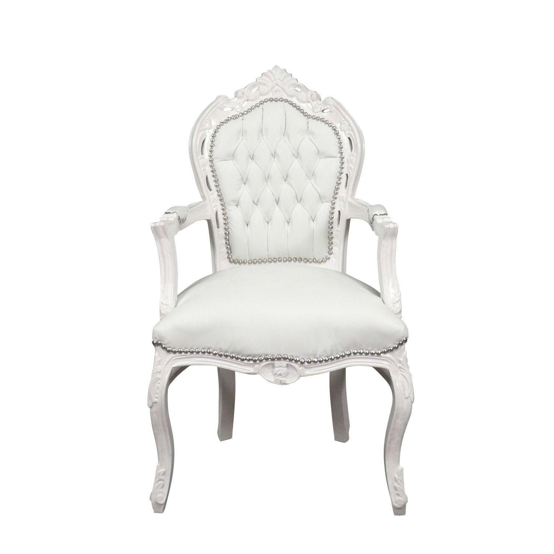 Fauteuil Baroque Blanc Mobilier De Style Fauteuil Baroque Mobilier De Salon Chaise Baroque