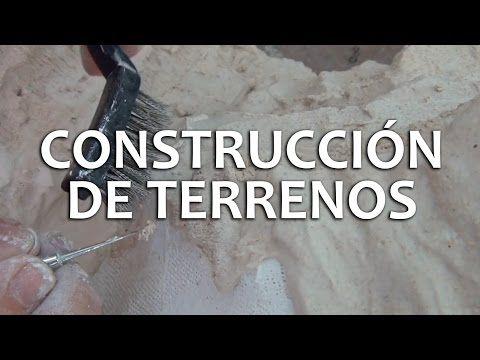 Dioramas   Parte 1 Construcción de Terrenos - YouTube
