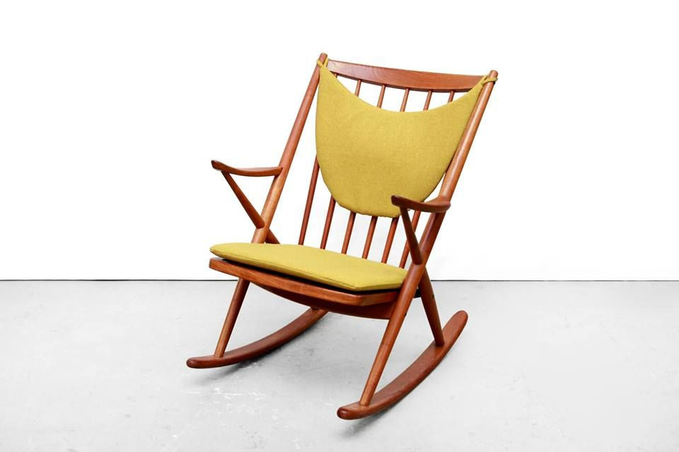 Vintage Schommelstoel Te Koop.For Sale Frank Reenskaug Bramin Rocking Chair Uit Denemarken Jaar