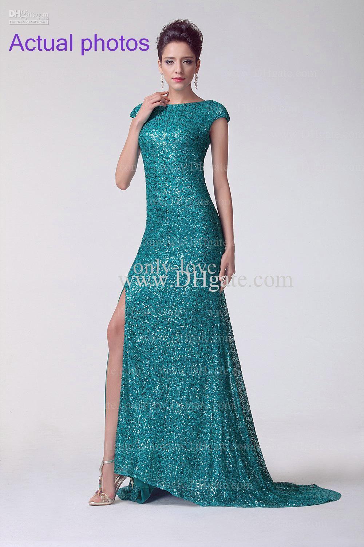 Wholesale Prom Dresses - Buy Glaring Hunter Mermaid Prom Dresses ...