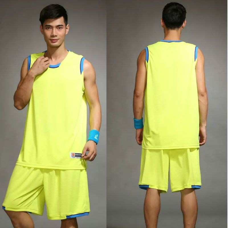 2017 New Arrival Blank DIY men basketball jerseys with short  Four Colors Size L-5XL