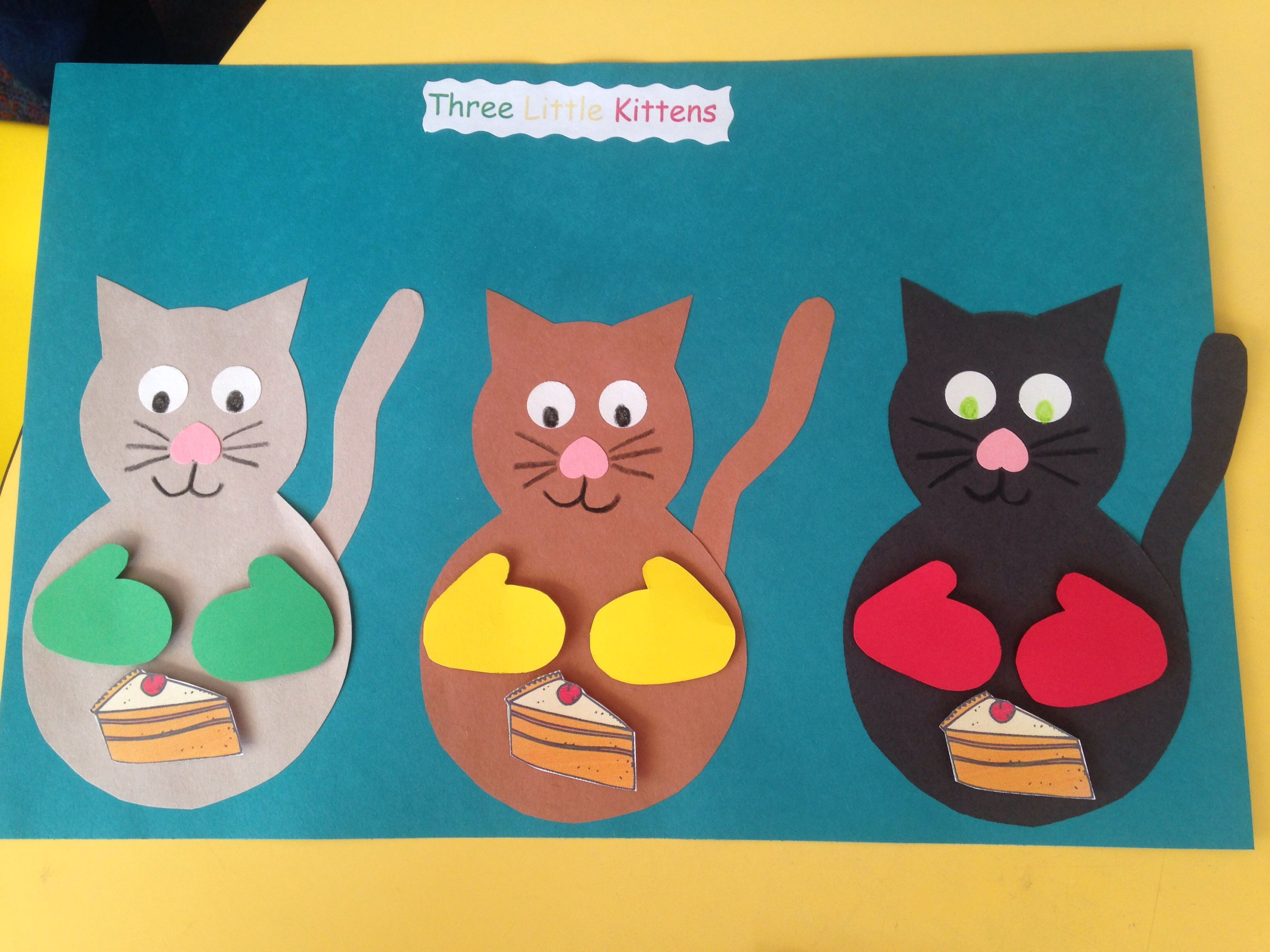 Three Little Kittens The Mittens And Pie Are Magnetic So