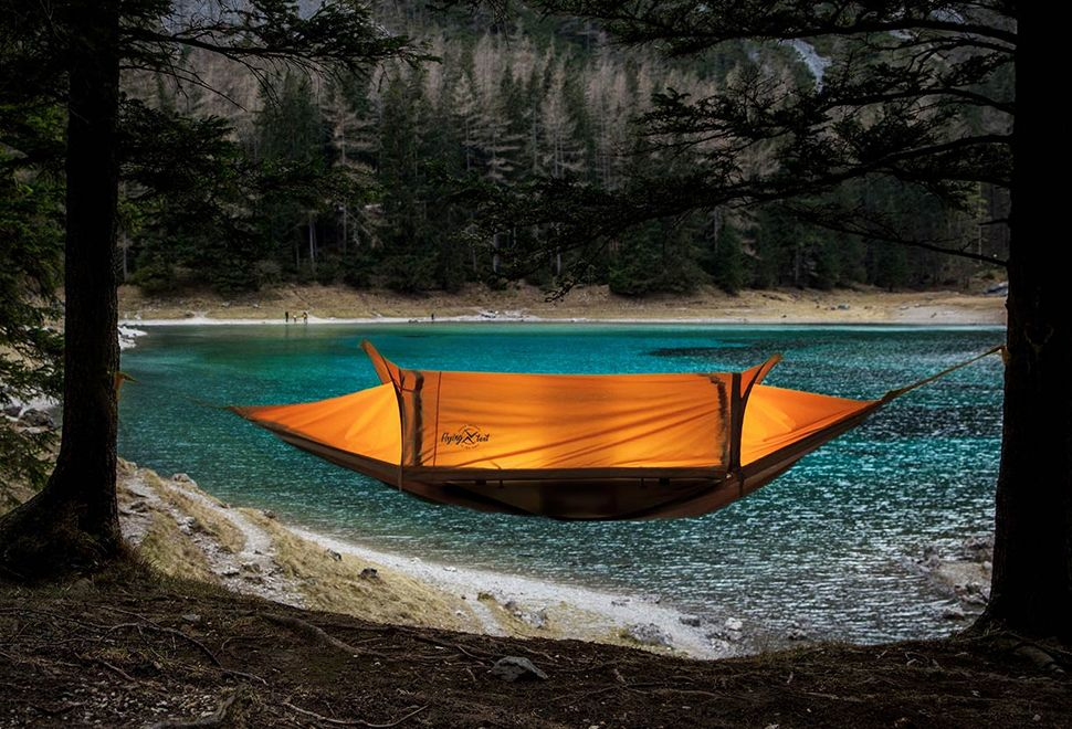 flying tent 4 in 1 all weather hammock bivy tent rain flying tent   flying tent bivy tent and tents  rh   pinterest