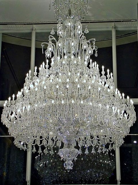 Baccarat crystal chandelier | Chandeliers, Crystals and Lights