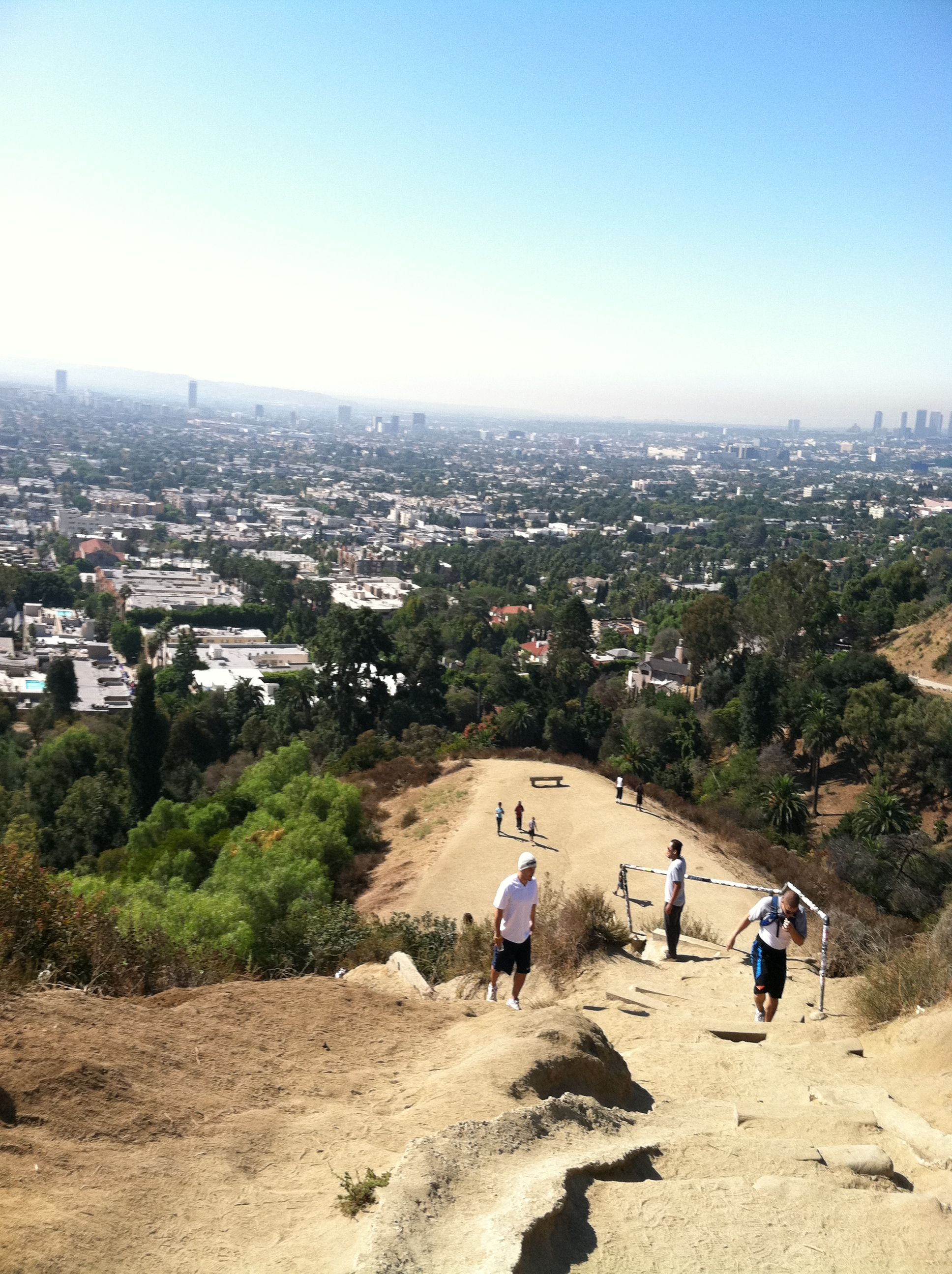 Runyan Canyon, LA. I miss you..where you could see the whole city.