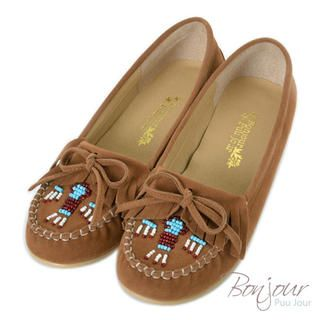 Chenille Hidden-Heel Embroidered Moccasins