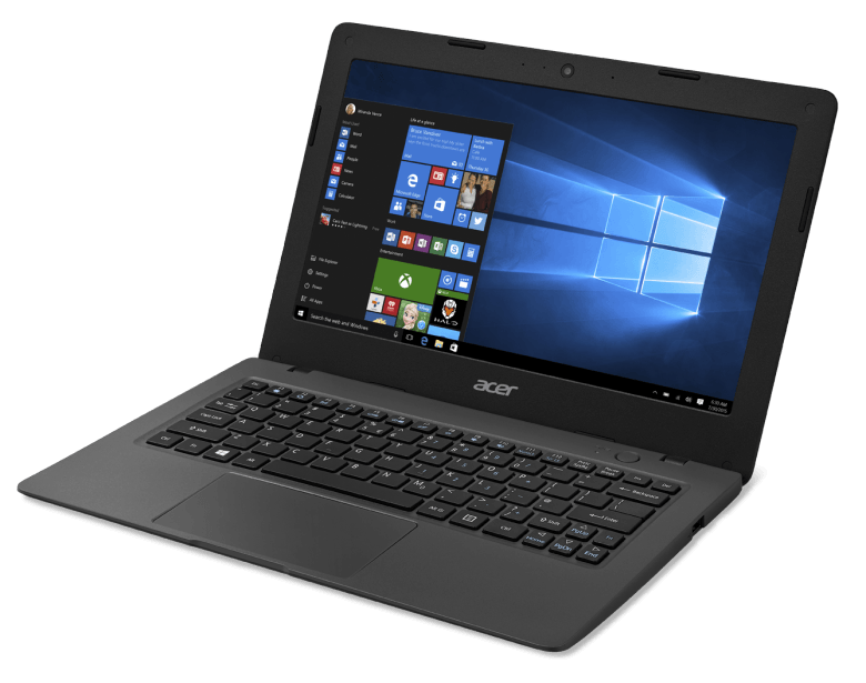 Microsoft today showed off a new low-cost laptop from Acer that could pose  new