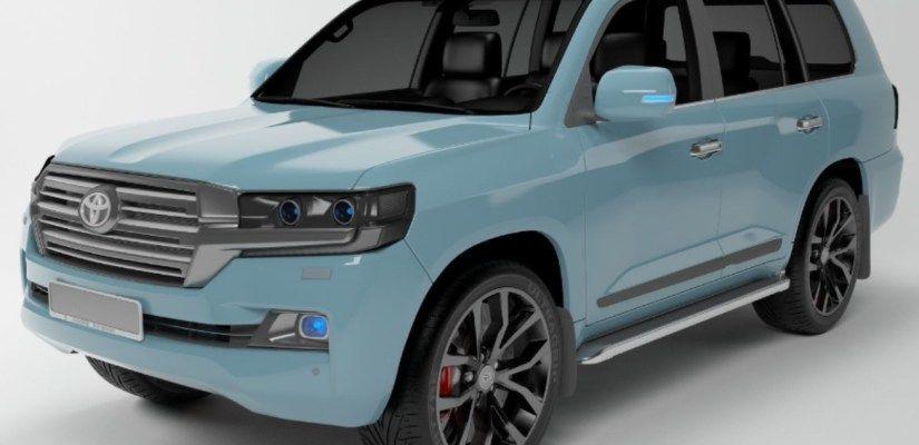 Image Result For 2019 Toyota Landcruiser Blue V8