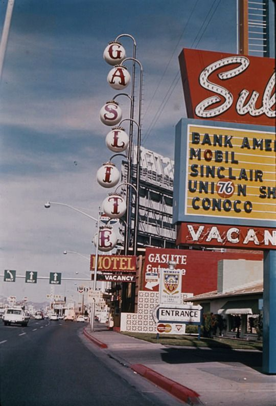 Vintage Las Vegas – Retro wallpeper