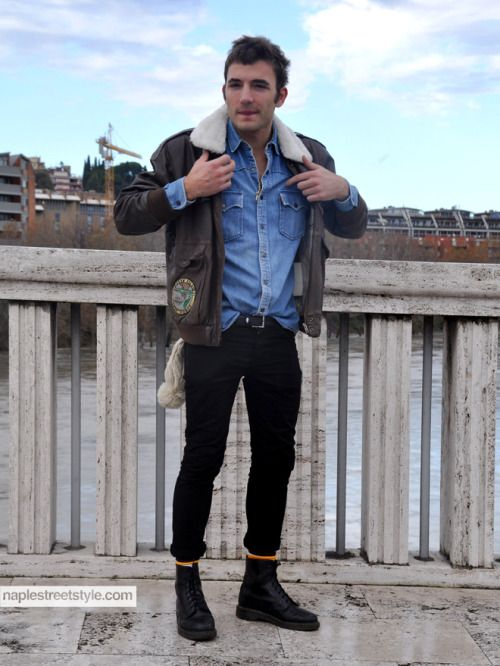 Mens tucked in shirt jeans and boots - Google Search ...